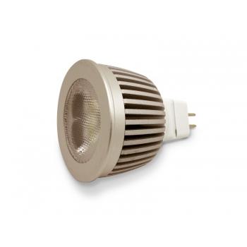 Bombillas led, MR16, 7W, luz cálida, Dicroica