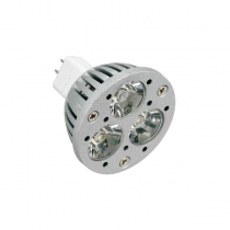 Bombillas led, MR16, 3W, luz cálida
