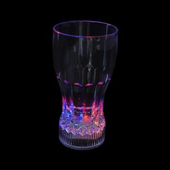 Led glass of coke