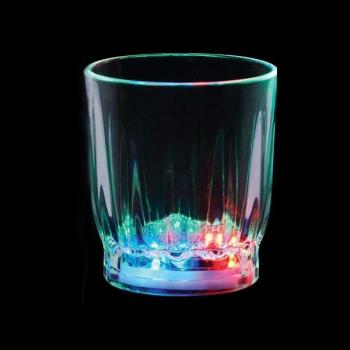 Vaso luminoso led chupito