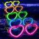 Gafas luminosas glow Corazón