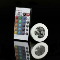 bombilla led RGB MR 16 3W