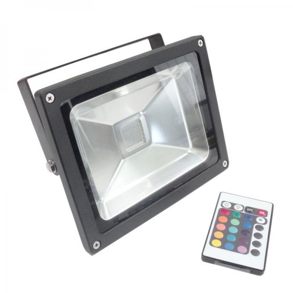 Foco proyector led 10w rgb la vida en led - Foco proyector led ...