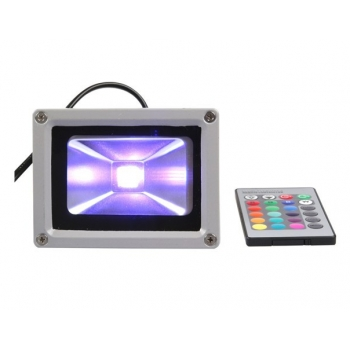 Foco led 10W, RGB