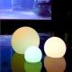 Bola luminosa de luz led, esfera, varios tamaños, multicolor, recargable