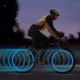 Led bicycle valves