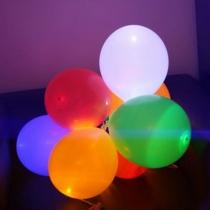 Globos led, de colores, grandes, 45cm