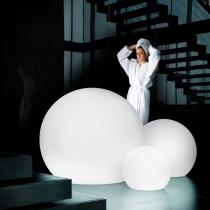 Bola luminosa de luz led 110 cm, esfera, multicolor recargable