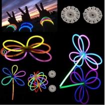 Conectores circulares glow