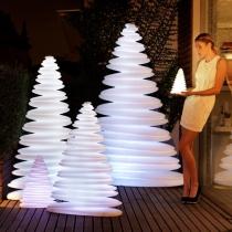 Arbol de navidad, led, RGB, recargable, 50cm