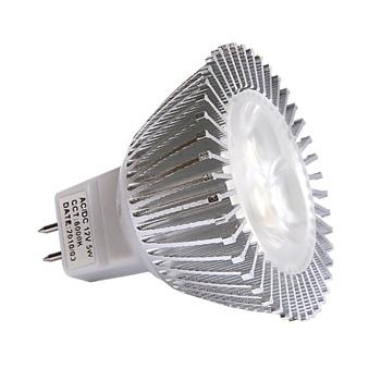 Bombillas led, 16, 5W, luz cálida, Dicroica
