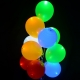 Colored LED balloons, 30cm