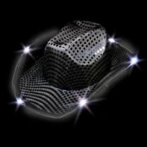 Sombreros Led Cowboy Negro