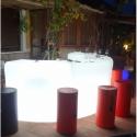 Barras de bar luminosas