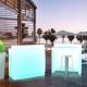 Barra de bar led Sicilia