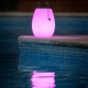Lámpara Altavoz bluetooth luminosa led 22x30 cm, luz 16 colores, portátil