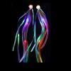 Extensiones fiesta para pelo led arco-iris
