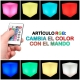 Led light cube, 60 cm, light of 16 colors, portable