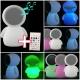 Lámpara Altavoz led, multicolor, recargable, música y bluetooth