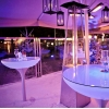 Mesa led lounge 105x80cm
