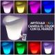 Cubitera luminosa led 'Albariño', luz 16 colores