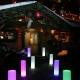 Lámpara Columna Tubo luminoso led, varios tamaños, luz 16 colores