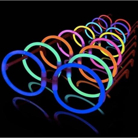 Gafas luminosas, redondas, hippies