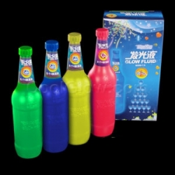 Líquido fuido glow fluorescente