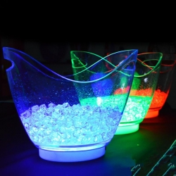 Methacrylate Led ice bucket