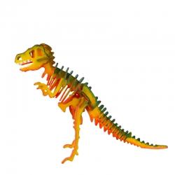 Dinosaurio T-Rex Puzzle 3D de Madera