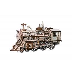 DIY Maqueta Locomotora Tren Puzzle 3D