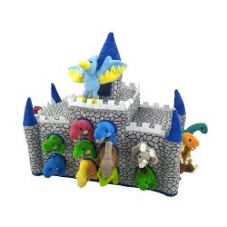 Castillo de peluche: Dinosaurios