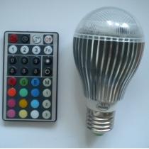 Led bulb E27 RGB 10W