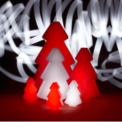 Christmas tree, LED, RGB, rechargeable, 82cm.
