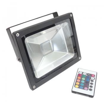 Foco proyector led 10W RGB