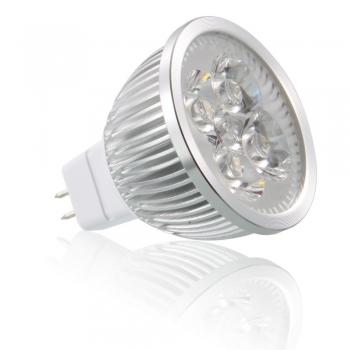 Bombillas led, MR16, 4W, luz cálida