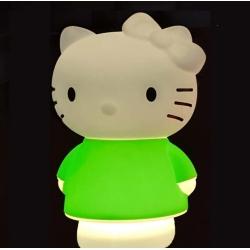 Lámpara infantil led 'Hello Kitty', luz cálida
