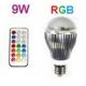 Bombilla led E27 RGB 10W