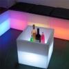 Cubitera luminosa led 40cm, luz 16 colores, portátil