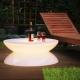 Mesa de luz, led, RGB, recargable, Lounge