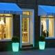 Macetero Maceta luminosa led 'Dusseldorf', luz 16 colores
