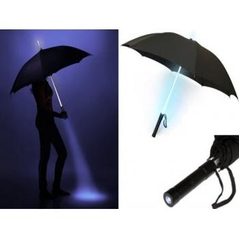 Paraguas con luz led, luminoso