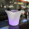 Cubitera luminosa led 'Big', luz 16 colores