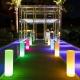 Lámpara Columna Tubo luminoso led, 160cm, luz 16 colores