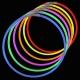 Collares fiesta luminosos, glow, bicolor 50 uds