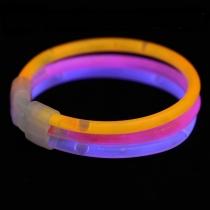 33 Pulseras luminosas, glow triples