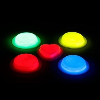 Pin circular luminoso glow