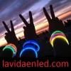 12 Pulseras luminosas, glow