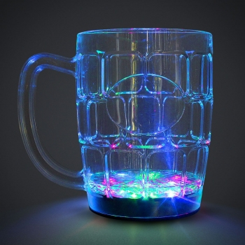 Jarra luminosa led de cerveza