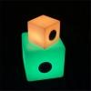 Cubo Altavoz bluetooth luminoso led, varias medidas, luz 16 colores, portátil